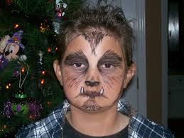 werewolf makeup tutorial male werewolf makeup for kids google search facepaiting pinterest
