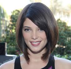 ashley u0027s hairstyle sleek and clean bob cut a line with blunt ends
