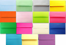 amazon com shipped free 50 boxed multi color assorted a6