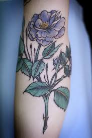 purple flower tattoo flowers ideas for review