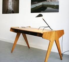 bureau bois noir best of le de bureau tripode noir h35cm serge mouille