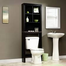 Black Bathroom Storage Bathroom Storage Shelving And Bakers Rack Shelf