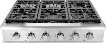 Gas Cooktop With Downdraft Vent Kitchen Unusual Kitchen With Built In Griddle Cooktop And