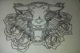 wolf design by b4rbiegh0ul on deviantart