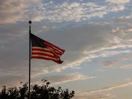 American Flag Sunset October 2014 U2013 Bracing Views