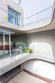 homes with interior courtyards concrete home with interior courtyard g house by esaú acosta