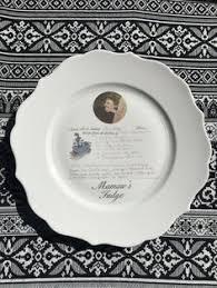 keepsake plate custom recipe plate custom photo plate keepsake plate keepsake