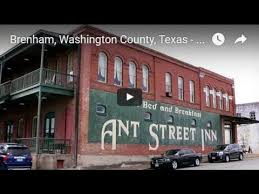 Brenham Bed And Breakfast What You Can Do In Downtown Brenham Texas Youtube