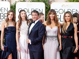 Gabrielle Hamilton Wife Golden Globes 2016 Sylvester Stallone U0027s Daughters Stun On Red Carpet
