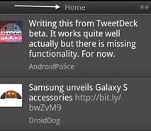 tweetdeck android tip how to jump to top in tweetdeck for android