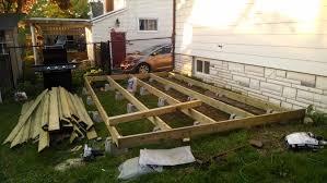 built a 10x16 deck with dek blocks on a budget about 800
