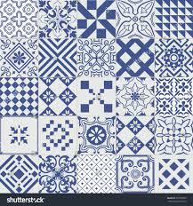 big vector set tiles background wallpaper stock vector 615593603