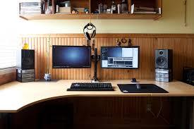 Small Desk Speakers Desk Outstanding Computer Desk For 2 Monitors Wonderful Computer