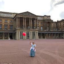 harper beckham gets royal treatment from eugenie at palace daily