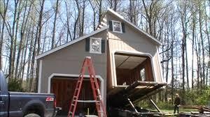 story car garage youtube house plans 47771