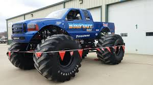 the monster truck bigfoot legendary monster truck bigfoot makes stop in jamestown newsdakota