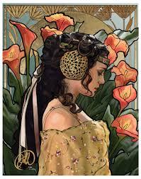 Photo Art Deco Art Nouveau Padme Photoshop Cc 4200x3300 Px Starwars