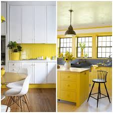 stay mellow four shades of sunny yellow kitchens big chill