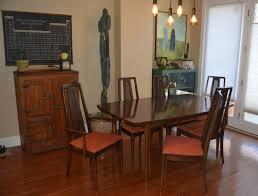 mid century modern broyhill dining set b u0027s refurnishings