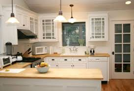 oak wood unfinished madison door white kitchen island with butcher