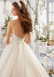 Draped Bodice Dress Asymmetrically Draped Bodice With Shoestring Straps Onto Tulle