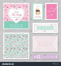 cute card templates set pastel colors stock vector 515487106