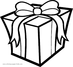 christmas present coloring christmas coloring pages