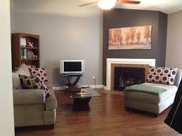 this is my finished living room paint job i love the cozy modern