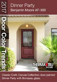 Business Front Doors by Dinner Party Benjamin Moore Af 300 U2013 Red With A Hint Of Copper