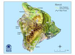 Map Hawaii Hawaiʻi Sun Zones Adon Construction U0026 Solar