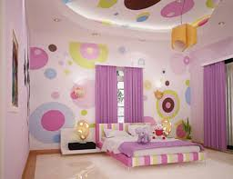 decorations fabulous bedroom with colorful wall painting also