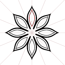 create a floral ornament with mirrorme and illustrator astute