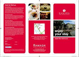 contoh desain brosur hotel contoh brosur dalam bahasa inggris bergambar dan artinya