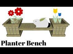 planter plans planter bench plans free outdoor plans diy