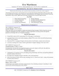 basic resumes exles advertising account executive resume exles templates sle for
