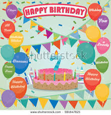 7th birthday stock images royalty free images u0026 vectors