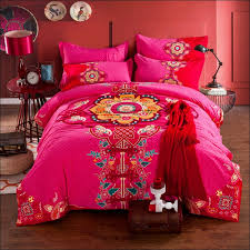 Orange And White Comforter Set Bedroom Awesome Navy And Coral Bedding Dark Purple Comforter