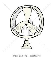 dessin de bureau freehand dessiné ventilateur dessin animé bureau clip