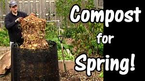 compost for spring leaves used coffee grounds u0026 garden waste