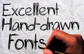 40 free high quality hand drawn fonts hongkiat