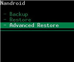 android restore how to back up and restore android system
