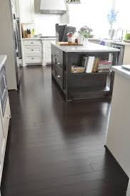 Grey Wood Floors Kitchen by Best 25 Dark Bamboo Flooring Ideas On Pinterest Bamboo Wood