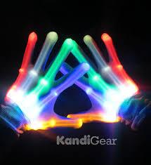 Light Up Gloves Led Gloves Light Up Gloves For Raves Beautiful Glow Skeleton