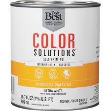 Best Interior Wall Paint Do It Best Color Solutions Latex Self Priming Eggshell Interior