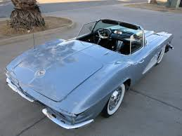 1961 corvette project for sale 1961 chevy corvette fuel injected fuelie damaged wrecked