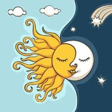 sad of the sun and the moon