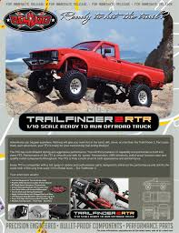 jeep honcho twister rc4wd trail finder 2 rtr mojave ii red body shell set z rtr0024