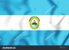 Guadalupe Flag 3d Flag Federal Republic America 18231838 Stock Illustration