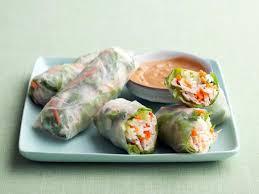 rice paper wrap chicken summer rolls recipe food network kitchen food network