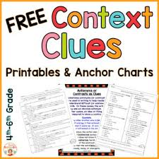 best 25 context clues activity ideas on pinterest 5th grade